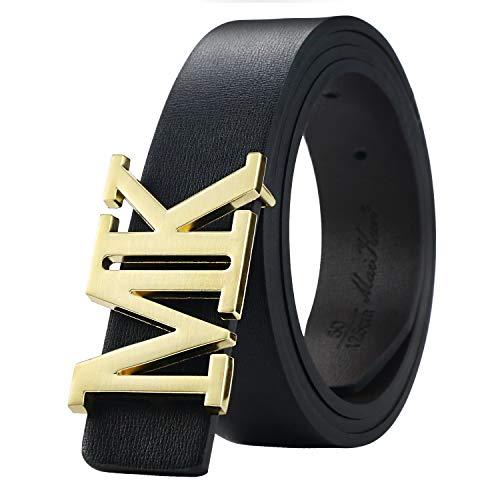 (Men's Reversible Leather Dress Belt 1.3
