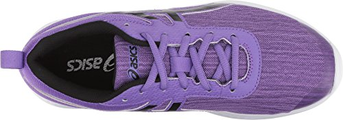 ASICS 1154A014 Kid's Lazerbeam EA Running Shoe, Orchid/Performance Black - 1 by ASICS (Image #1)