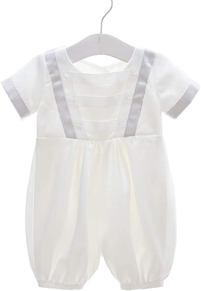 AHAHA Baby Boys Christening Gowns Special Occasion Baptism Romper for Boys