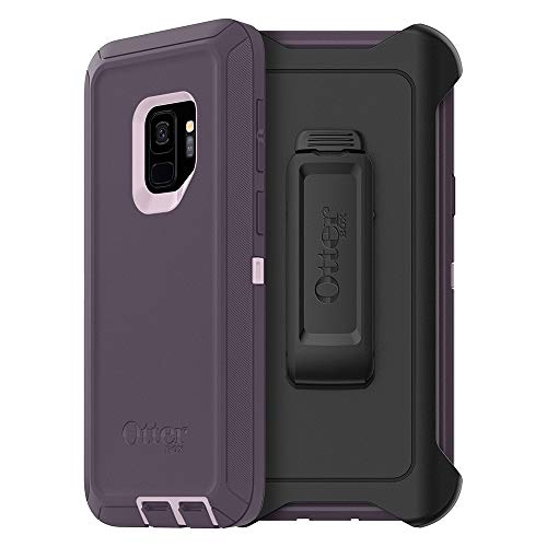 OtterBox Defender Series Case & Holster for Galaxy S9 Plus (77-58155) Purple Nebula - Renewed