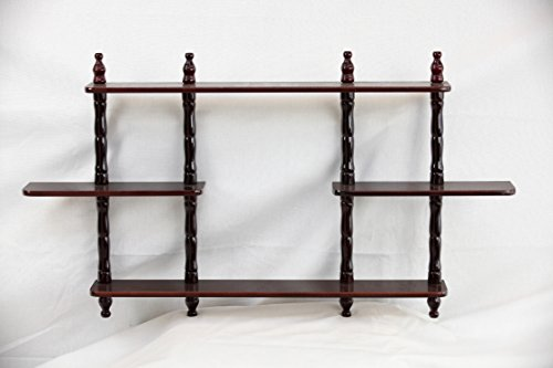 3 Tier Wall Shelf (Frenchi Furniture 3 Tier Wall)