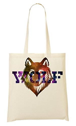 Animal Words Tote Cool Nature Galaxy Space Series Shopping Simple Phrases Bag WrUr4nIzq