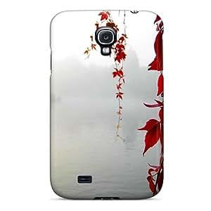 Tpu Case Cover Compatible For Galaxy S4/ Hot Case/ Flowers wangjiang maoyi