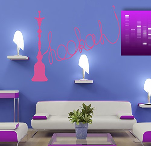 Hookah-Calabash-Hooka-Chillum-Tobacco-Cafe-Bar-Kids-Room-Children-Stylish-Wall-Art-Sticker-Decal-G8599