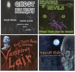 Blood thirsty beats for halloween [MIDNIGHT FEVER, VOICES OF THE NIGHT, MYSTIC LIGHTS, MOONLIGHT SHADOWS, CANDLELIGHT DANCE, SONG OF THE NIGHT, LORD OF THE NIGHT , BAD VISION, NNIGHT GISASTER, -