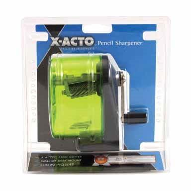 X-Acto  Bulldog  Assorted  Manual  Pencil Sharpener