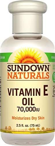Sundown NaturalsPure Vitamin E-Oil 70000 IU, 2.5 Ounces (Pack of 3)