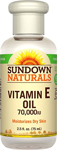 Sundown NaturalsPure Vitamin E-Oil 70000 IU, 2.5 Ounces (Pack of 3)