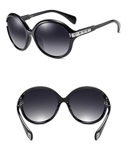 Anti Gafas América Gran Y Clásico Caja radiación De Polarizado Marco Retro WJYTYJ Vintage Redondo Gafas 1 Europa Sol E4Oqw4BY