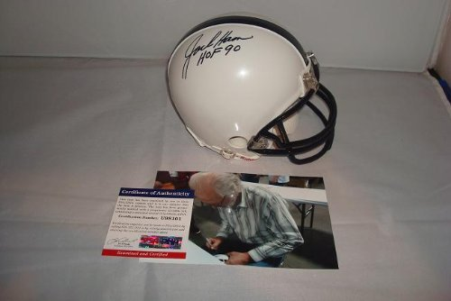 Jack Ham Signed Penn State Nittany Lions Mini Helmet, PSA DNA Authenticated ()