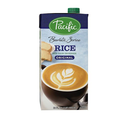 Pacific Foods Rice Milk Barista Series Non-Dairy Beverage, 32 ()