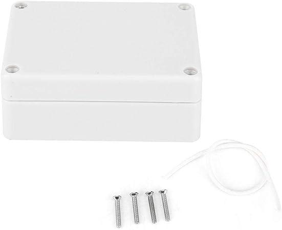 Caja de Conexiones, Plástico ABS Impermeable Ip65 Caja de Proyecto Eléctrico Universal Durable Caja Eléctrica Caja de Conexiones Impermeable Caja de Fuente de Alimentación de Seguridad 84 x 59 x 33mm: Amazon.es: