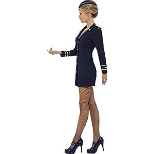 d25f449fbf8 Women's Flight Attendant Costume (Smiffy's)