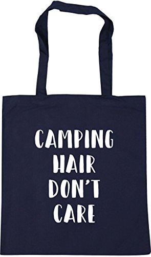 Care Don't Camping litres Navy 10 Gym Tote French x38cm Beach Bag 42cm HippoWarehouse Hair Shopping xB4qwBtd
