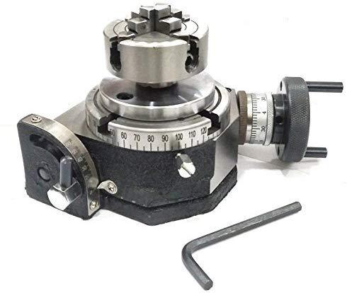 Precision Quality - Mesa giratoria con inclinación de 100 mm con ...