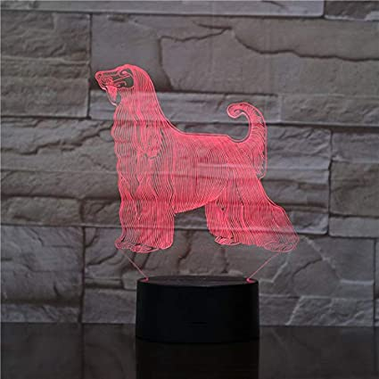 3D Illusion Lamp Great Wall Night Light For Children Live Room Night Light 7 Color Changing Led Night Light Great Wall Unique For Kids Gift WGWNYN