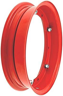 Llanta de 25,4 cm RMS para motocicletas Vespa 50 et3 10 pulgadas px y pk Color: rojo