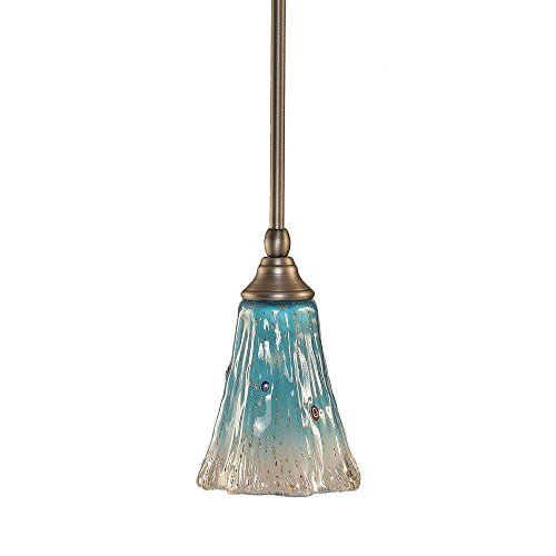 Toltec Lighting 23-BN-725 Stem Mini Pendant with Hang Straight Swivel with 5.5