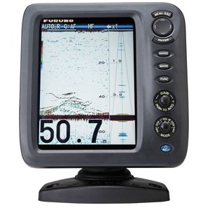 - Furuno FCV588 Color LCD, 600/1000W, 50/200 KHz Operating Frequency Fish Finder Without Transducer, 8.4