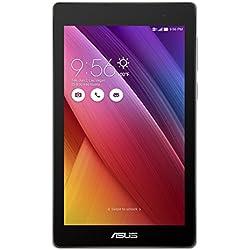ASUS ZenPad C 7.0 Z170CG-1L027A Tablet con Funzione Telefono, Processore Intel Quad Core, 16 GB, DUAL SIM, Android 5.0, Argento