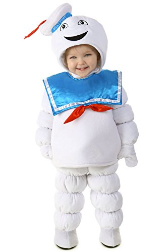 Princess Paradise Baby's Ghostbusters Stay Puft Deluxe Costume, As Shown, 18M/2T - Toddler Ghostbusters Costumes