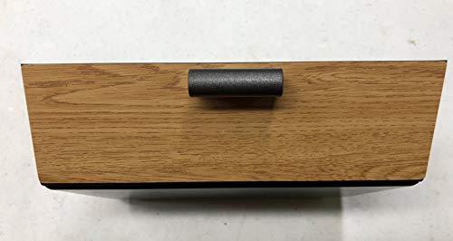 EVamped Tesla Model S and Model X Drawer - Oak Decor w/Graphite Trim Tesla Drawer, Dash Drawer