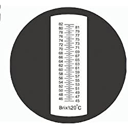 Sinotech Hand Held Fruit Sugar Refractometer Brix 45-82% Rhb-82atc with Auto Temperature Compesation