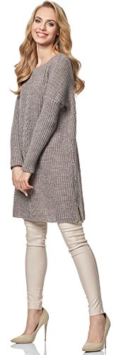 Merry Style Pullover para mujer MSSE0029 Moca