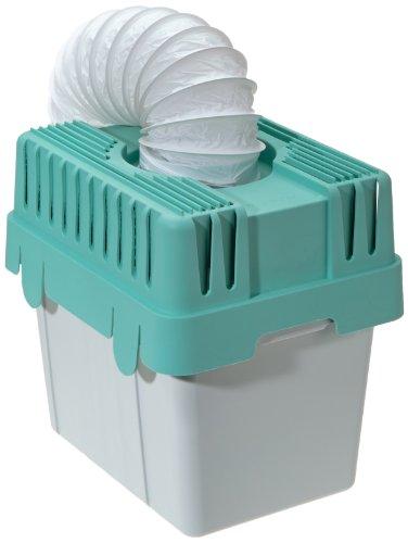 WENKO 3743010500 Wäschetrocknerkondensator für Abluftwäschetrockner, Kunststoff - Polypropylen, 28.5 x 29 x 23.5 cm, Grau