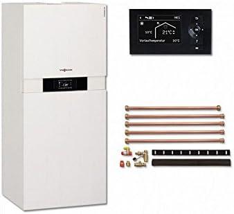 Viessmann VITODENS 222 de F 19 KW vitot Electronic 200 del paquete Gas condensación calentador compacto calefactor b2sa: Amazon.es: Bricolaje y herramientas