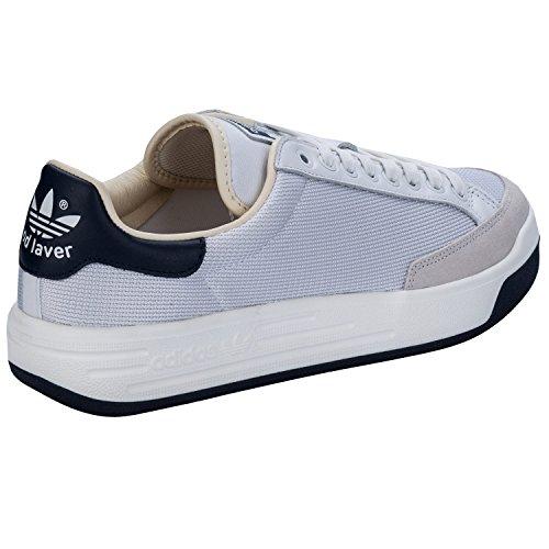Adidas Originaler Menns Rod Laver Super Trenere Us7.5 Hvit