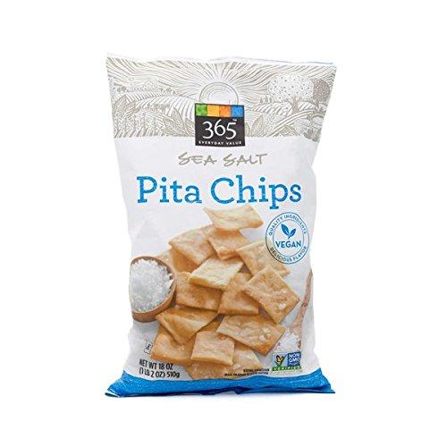 365 Sea Salt Pita Chips 18 oz