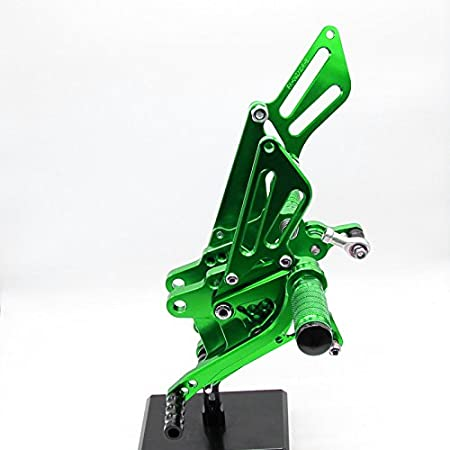 Krace Motorcycle Rearsets Foot Pegs Rear Set Footrests Brake Shift Pedals Fully Adjustable Foot Boards Fit For Honda Grom MSX 125 2017-2018