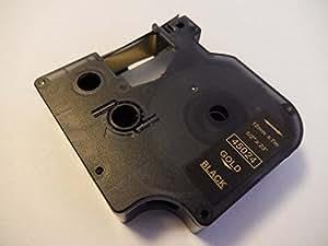 Cartucho de cinta 12mm marca vhbw para Dymo LabelManager 360D, 400, 420P, 450, 450D, 500, 500TS, PC II sustituye Dymo D1, 45024.