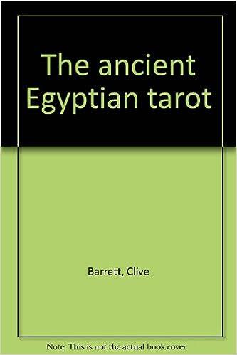 The ancient Egyptian tarot: Clive Barrett: 9780850309669 ...