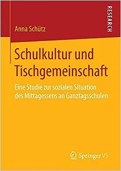 Book Schulkultur und Tischgemeinschaft