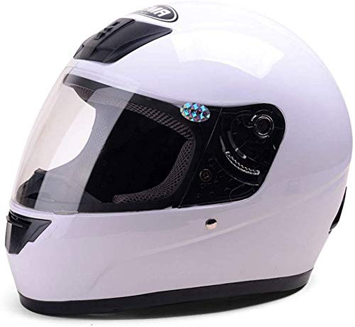 24 XZ Casco port/átil Casco de moto Hombres y mujeres Funda de casco integral Four Seasons Casco antiniebla,Jasmine gris,33 26cm