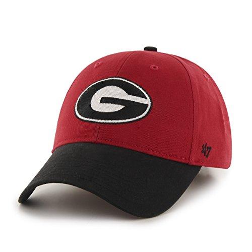 NCAA Georgia Bulldogs Kids Short Stack '47 MVP Adjustable Hat,