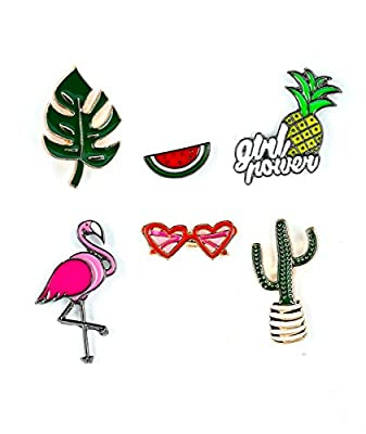 MeliMe Cute Cartoon Brooch Pins Enamel Brooches Lapel Pins Badge for Women Girls Children for Clothing Bag Decor