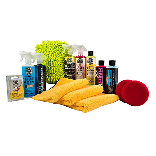 Chemical Guys HOL123 Complete Car Care Kit (14 Items), 112 fl. oz ()