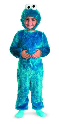 Cookie Monster Comfy Fur Costume - Large (4-6)
