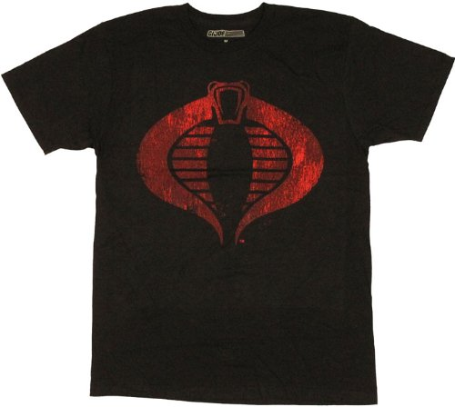 - G.I. Joe Cobricon Cobra Logo Men's T-Shirt