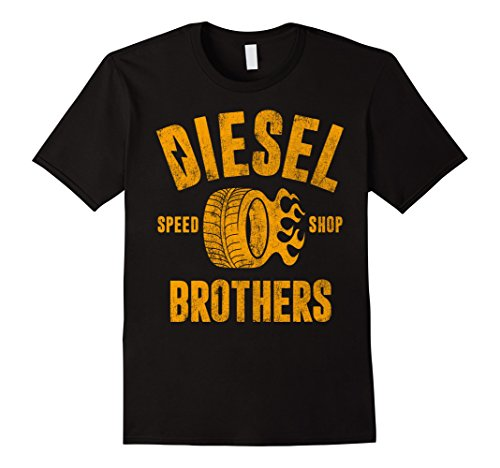 Diesel Brothers Speed Shop Gold Vintage Graphic ()