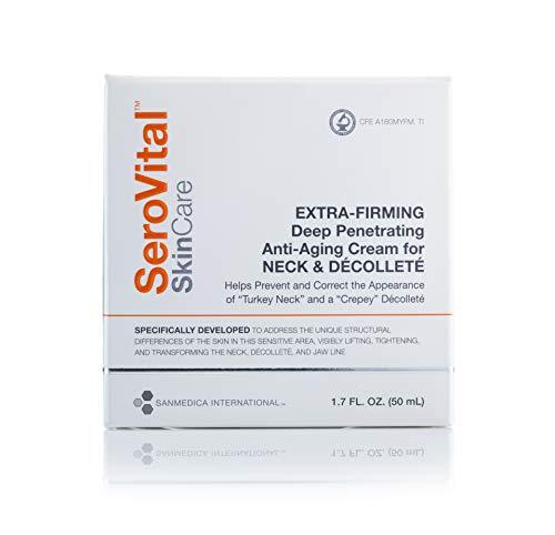 SeroVital SkinCare Extra-Firming Deep Penetrating Anti-Aging Cream for Neck & Décolleté
