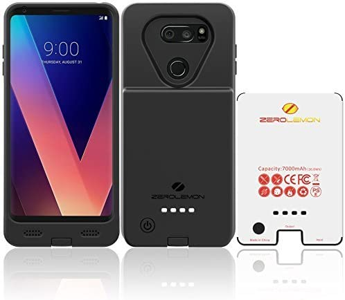 ZeroLemon Ultra Power LG V30 - Carcasa para LG V30 (batería ...