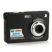 Macchina Fotografica Compatta, Stoga Dfun C3 2.7 inch TFT LCD HD Mini Digital macchina fotografica- Videocamere digitali per bambini - Sport, viaggi, campeggio, regalo di compleanno (Nero)