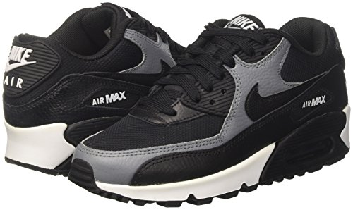 90 Air Nike black Da black Wmns black Nero Grey Scarpe white Max cool Ginnastica Donna tqgBarq