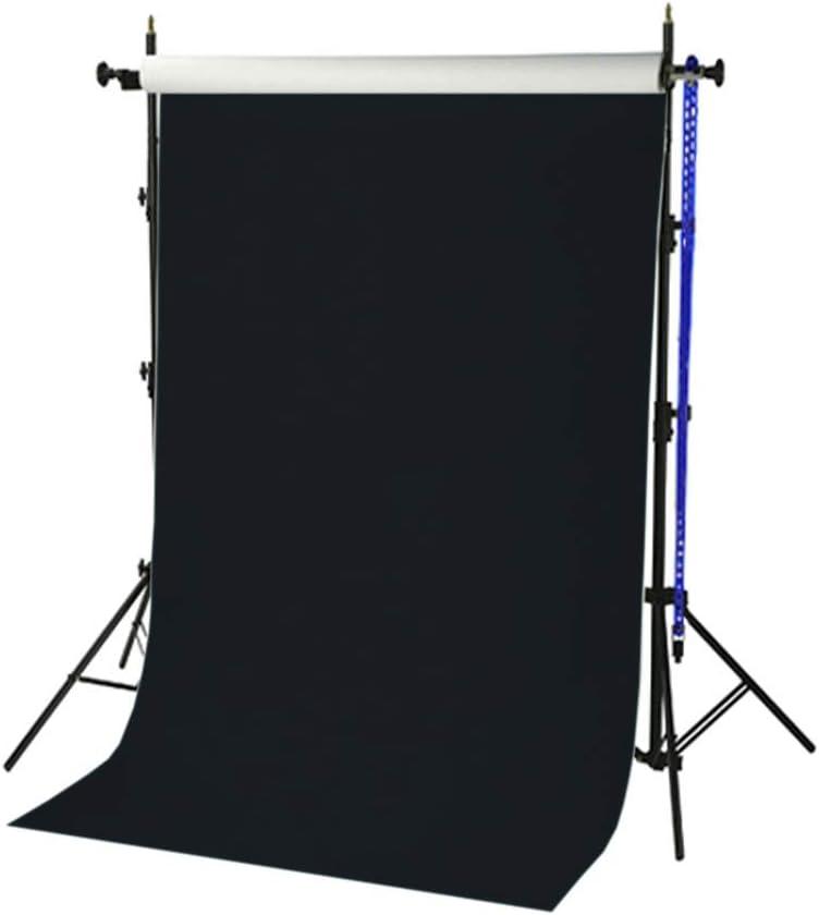 Fondart Negro Tel/ón de Fondo para Fotograf/ía y Video Fondo Fotogr/áfico Profesional 296 x 605 cm
