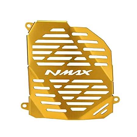 Shumo Protector de Radiador de Motocicleta de Acero Inoxidable Protecci/óN de Cubierta de Rejilla de Radiador para NMAX155 2015-2018 N-MAX 155 NMAX-155 2017 Rojo