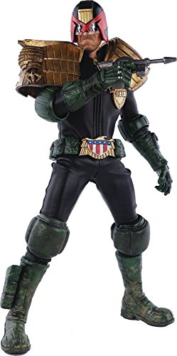 Three A 2000 AD X 3A Judge Dredd 16 Scale Action Figure